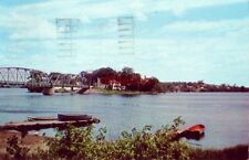 INDIAN ISLAND FROM OLD TOWN, ME 1961 Home of remaining Penobscot Tribe