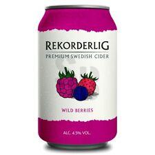 Rekorderlig Wild Berries Wildbeeren Premium Cider 4,5% vol 24 x 33cl Tray