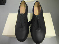 Black Bloch jazz tap shoes  - with heel and toe taps   S0301 - see description