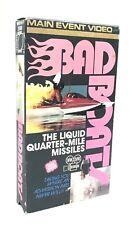 Bad Boats The Liquid Quarter-Mile Missiles - VHS