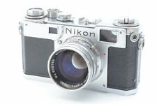 Excellent Nikon S2 35mm Rangefinder Film Camera w/ 50mm 5cm f/1.4 lens Kit #683