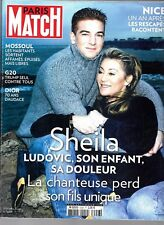PARIS MATCH N° 3556--SHEILA & LUDOVIC/ATTENTAT DE NICE/MOSSOUL/DIOR