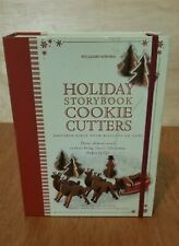 Williams Sonoma Holiday Storybook Cookie Cutter 3-D Christmas reindeer snowman