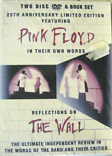 """PINK FLOYD """"REFLECTIONS ON THE WALL""""  2 dvd + book limited edition oop sealed"""