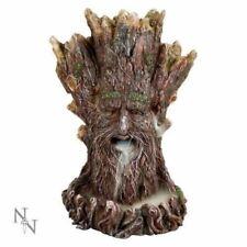 Tree Spirit Greenman Backflow Incense Burner Cones Holder 19cm by Nemesis Now