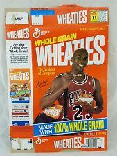MICHAEL JORDAN NBA Bulls WHEATIES 1993 Empty Flat Cereal Box