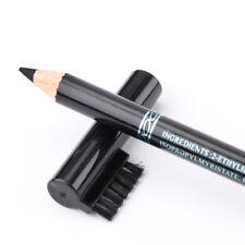 Neuf Crayon à Sourcils Avec Peigne à Sourcils Crayon à Sourcils Noir Imperméable