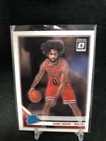 2019-20 Panini Donruss Optic Coby White RC Bulls Rated Rookie #180 Rookie F28