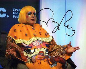 Grayson PERRY SIGNED Autograph 10x8 Photo 4 AFTAL COA Contemporary Artist