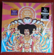 "Jimi Hendrix Experience ""Axis: Bold as Love"" 200 Gram ORANGE LIMITED EDITION LP"