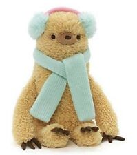 """GUND Authentic Pusheen Winter Sloth With Earmuffs And Scarf 8"""" inches"""