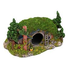 Resin Aquarium Ornament Dwarf House Fish Tank Landscape Hiding cave Decoration