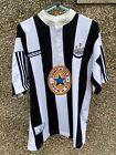 Newcastle Utd Home Shirt 1995 / 97 - Adidas - Brown Ale - Xl - Steve Watson 19