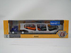 M2 Machines Auto-Hauler 57 Dodge COE, 70 Dodge Super Bee 383 & 71 Dodge Charger