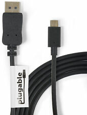 Plugable USB-C to DisplayPort 6ft (1.8M) Adapter Cable USBC-DP