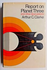 Report on Planet Three and Other Speculations by Arthur C. Clarke 1st Edition VG