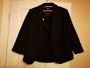 Size 20 Marks and Spencer wool mix suit