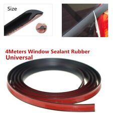 4M V Type 18MM Mounlding Trim Rubber Weatherstrip Sealed Strips Car Window Seal