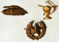 Czecholovakia - Collar Badges - 3  different -  unused  -  B5507
