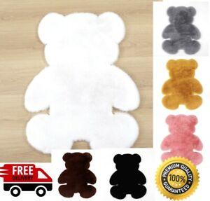 Soft Plush Bear Carpet  Anti-slip Rug Water Absorption Carpet for Home, Office