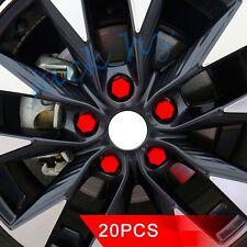 Auto Wheel Hub screw Lug Bolt Cover Cap 19mm Nut Protector Silicone Hexagonal