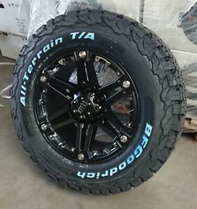 RID R01 9x17 6x139,7 Felgen + Reifen BF Goodrich KO2 275/65/17 für Ford Ranger