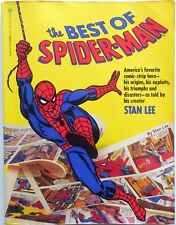 THE BEST OF SPIDER-MAN STAN LEE COMICS FUMETTO 1986 MARVEL COMICS GROUP