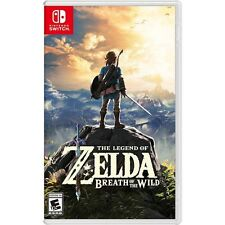 The Legend of Zelda Breath of the Wild Game - Nintendo Switch FREE 2-DAY SHIP!