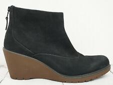 9833fbc0764d02 ECCO ♫ Keilabsatz Stiefeletten Gr. 41 Echtleder Schwarz Damen Boots Shoes  Schuhe