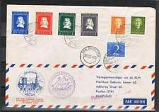 Poststuk (090) uit 1952 - Riebeeck Vlucht A'dam-Kaapstad - Lees !!!!