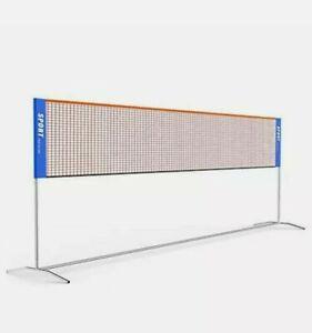 Ulalov Badminton Net Set 17ft Portable Adjustable Height tennis volleyball more