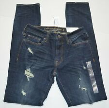 American Eagle Slim Men's Destroyed Jeans 100% Cotton NEW Size 30 x 34