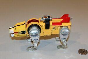 1981 Voltron Lion Force Diecast Yellow Lion Golion Y&K Toy Japan TOEI Popy 1980s