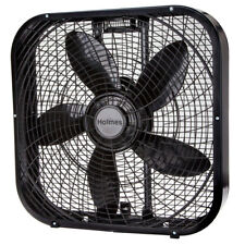 "Holmes 20"" Box Fan - Black HBF2001DP-BM"