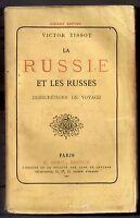 VICTOR TISSOT LA RUSSIE ET LES RUSSES INDISCRETIONS DE VOYAGE 1882