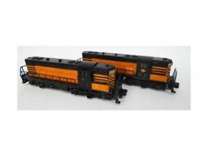 American Flyer Texas & Pacific 374 375 GP-7 Diesels