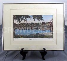 Charleston! Rutledge Ave on Colonial Lake Jean Claude de Montfort Framed Print