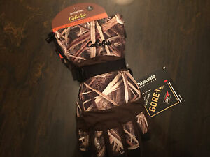Cabelas Gore-tex Thinsulate Deluxe Shooting Gloves -waterfowl- Size S- Brand New