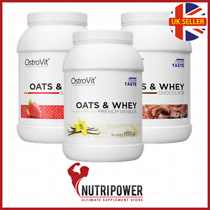 OstroVit OATS & WHEY 1000 g  - Low Sugar - Meal Replacement - High Protein