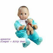 Brand New Hard To Find American Girl Bitty Baby 2001 Meet SLEEPER + BITTY BEAR