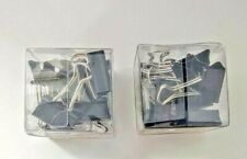 Binder Clips Strong Clamps Medium Metal Steel Wire 58 1 14 24 Pcs