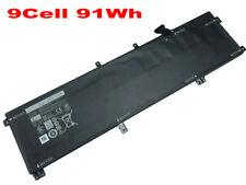 91WH 245RR Battery For Dell XPS 15 9530 Precision M3800 245RR T0TRM H76MV 7D1WJ