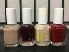 Mixed Lot of Four (4) Essie nail polish discontinued colors 336 361 368 407