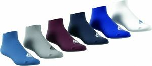 Adidas Men Women Children No Show Thin 6er Pack Trainer Socks 6 Colors S99896