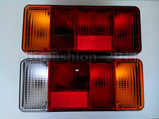 New 2x Rear Tail Lights fit Iveco Daily Eurocargo Fiat Peugeot Truck Chassis Cab