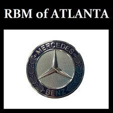 Genuine Mercedes Benz Blue Laurel Wreath Hood Star Badge 207 Coupe
