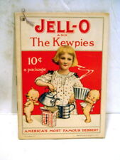 Vintage 1915 Jello Recipe Booklet w/ Kewpies Helping to Cook by Rose O'Neill
