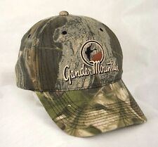 Gander Mountain Camo Camouflage Baseball Cap Hat Outdoors EUC Box Shipped