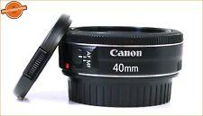 "Canon 40mm F2.8 STM EF ""Pancake"" MACRO AUTOFOCUS Lens + GRATIS UK"