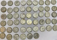 More details for 51 two shilling coins 1938-1945